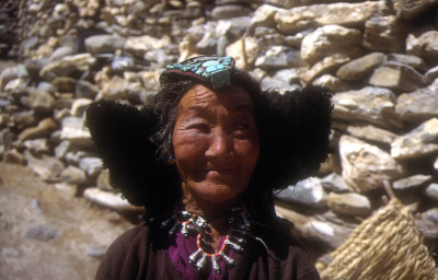 Ladakhi woman Markha Valley