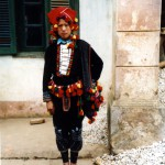 Zao girl with traditional dress