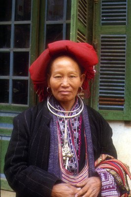 Zao woman in Sapa