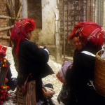 Zao women with silver jewellery